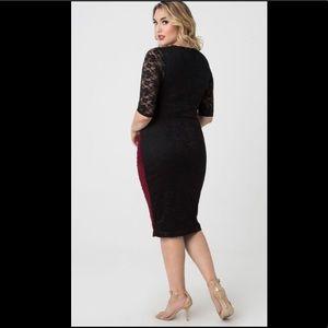 25a0a209296 Kiyonna Dresses - NWT Valentina Illusion Kiyonna dress